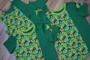 """Geburtstagsshirts der """"PEKiP-Gang"""""""