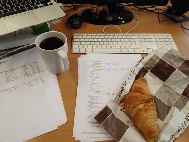 XML Transformation mit XSL dazu Croissants und Kaffee
